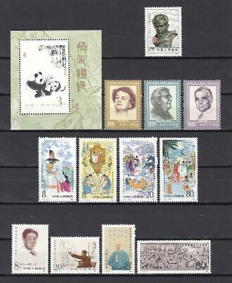 China 1985 - Mi.-Nr. Block 35, 2014-2025 postfrisch (MNH)