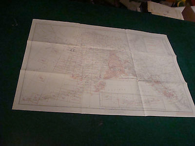 """Original Index to Topographic Mapping in ALASKA may 1955, aprox 24 x 33"""""""