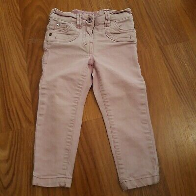 Girls pink/ Purple White Washed Jeans 3 Years Next