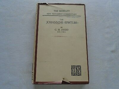 The Johannine Epistles.  C H Dodd.  Published 1953.  See full listing below
