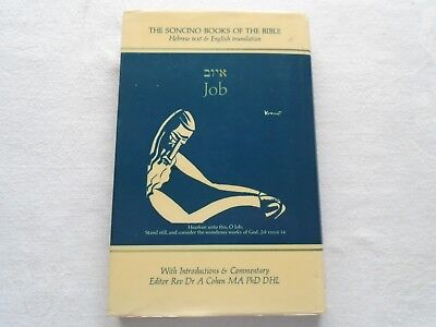 The Soncino Books of the Bible : Job : Rabbi Dr. Victor E. Reichert. Publ 1976