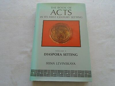 The Book of Acts : Volume 5 :  Diaspora Setting - Levinskaya - Published 1996