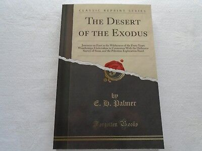 Classic Reprint Series: The Desert of the Exodus. E. H. Palmer. Published c2018