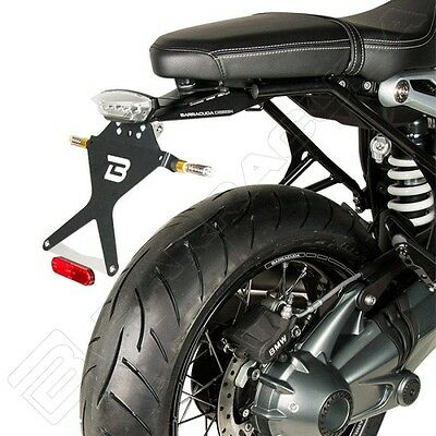 Barracuda Support Plaque D'Immatriculation Street Pour BMW R Ninet