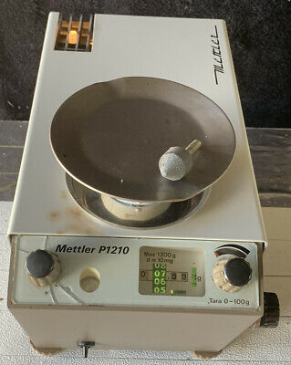 METTLER P1210 Lab Weighing Scales Analytical Balance