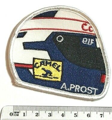 .Aufnäher Patch -> Racing F1 Helm ALAIN PROST