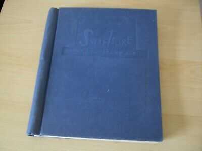 Vintage Stamp Album With Mixed Worldwide Postal Stamps - Job Lot 550 Stamps