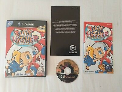 Billy Hatcher And The Giant Egg Nintendo Gamecube Game Good Condition