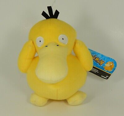 TOMY Official Pokemon Psyduck Plush Toy Doll