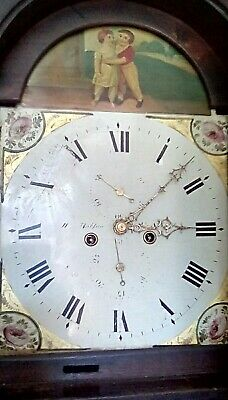 Longcase grandfather clock 8 Day in good working order.