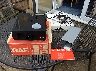 GAF 501 Slide Projector