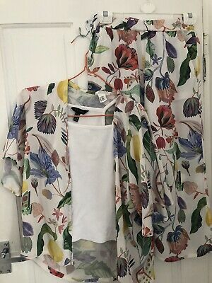 H&M 2 Piece Culottes Set Limited Edition Aged 12-13 By Michelle Morin Design