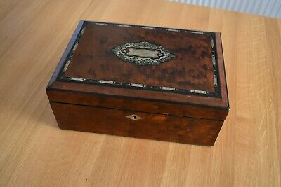 Antique jewellery / sewing box