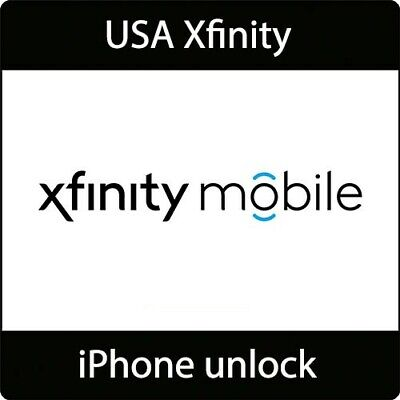 Xfinity / Xenon USAiPhone Factory Unlock Service (All models) Clean ONLY