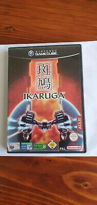 Ikaruga (Nintendo GameCube, 2003)  PAL with case & manual Age 11+ Good condition