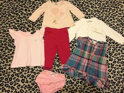 Baby Girls RALPH LAUREN TED BAKER BABY Bundle 0-3 3-6 6-9 months