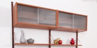 PS System Danish Shelving Cado Style Mid Century
