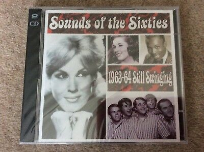 Very Rare Time Life Sounds Of The Sixties 1963-64 Still Swinging New/Sealed 2 CD