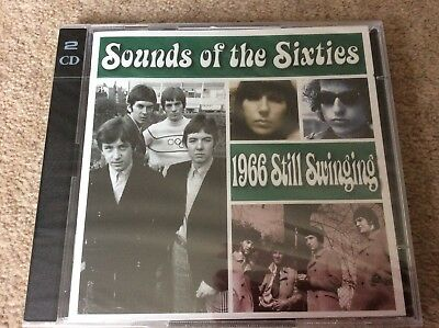 Very Rare Time Life Sounds Of The Sixties 1966 Still Swinging New/sealed 2 CD