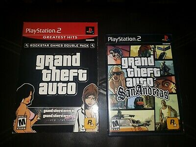 GTA Grand Theft Auto 3 III Vice City San Andreas PS2 Playstation 2