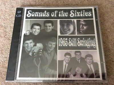 Very Rare Time Life Sounds Of The Sixties 1965 Still Swinging New/sealed 2 CD