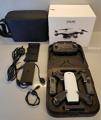 Dji Spark Fly More Combo Excellent Condition 2 Batteries