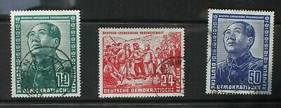 East Germany. Friendship with China 1951 used set