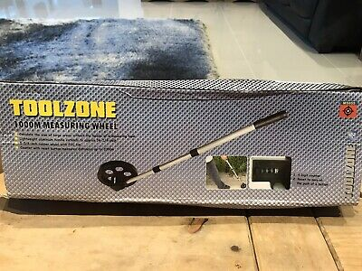 1000M 1Km Telescopic Micro Distance Measuring Wheel Surveyors Builders Toolzone