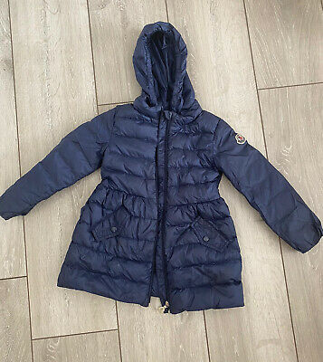 Girls Navy Summer Moncler Jacket Age 3 Excellent Condition