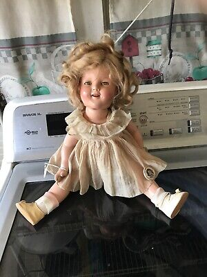 "Vintage Shirley Temple 18"" Ideal Composition Doll"