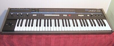 """Korg Poly-61 Analog Synthesizer """"top"""" incl. Case (kein Juno, ...)"""