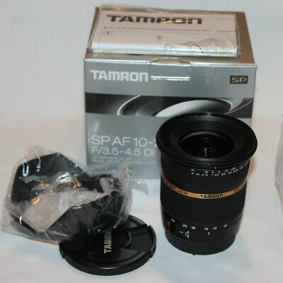 Tamron SP AF 10-24mm f3.5-4.5 Di II  LD ASPHERICAL Lens Canon
