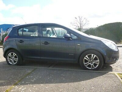 2010/10 Vauxhall Corsa 1.2 Energy 5Dr Blue A/C *Only 44K Miles* Bargain *No Res*