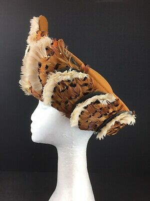 Jack Mconnell Hat American Designer Wool with Feather