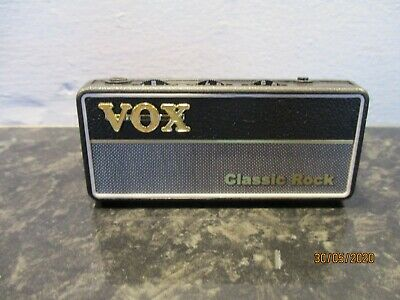 Vox amPlug Guitar Amplifier Headphone Amp Classic Rock