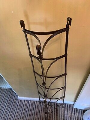 Rare Antique Victorian Wrought Iron Pan Stand Circa 1900