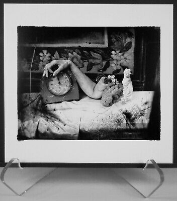 Original 1999 Lithograph Of Joel-Peter Witkin 1998 Photograph Anna Akhmatova