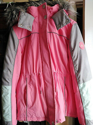 Next Girls Parka Coat in Age 11-12 Years/ 152 cm/ Excellent Condition