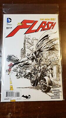 The Flash #33 DC Comics The New 52 Comic 2014 Issue 33 Variant Cover Batman