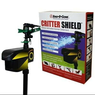 Bird B Gone 244565 Critter Shield Electronic Animal Yard Repeller