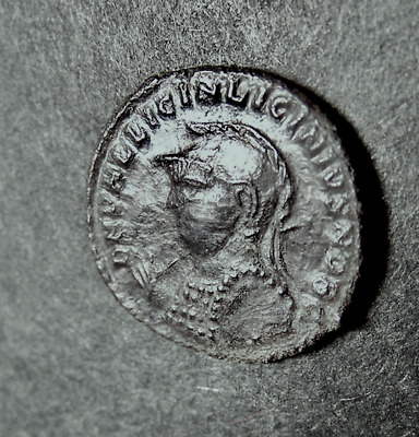 LICINIUS II, Caesar, w/ King of Gods, Jupiter, NIKE, Captive, Eagle, Roman Coin