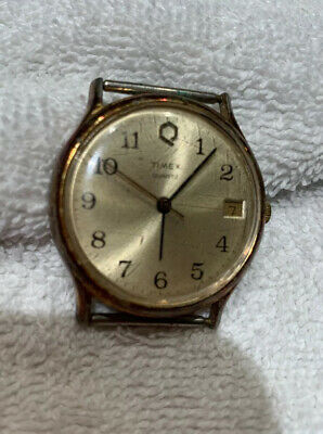 Timex Quartz Mens Watch No Band Water Resistant