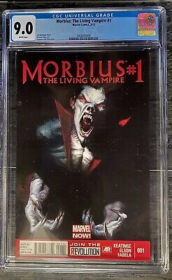 Morbius The Living Vampire 1 Dell'Otto cover CGC 9.0 1st printing New 2020 film