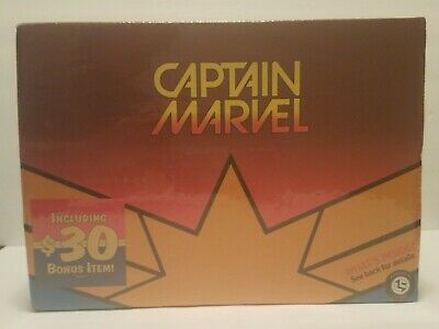 Loot Crate Captain Marvel new and sealed