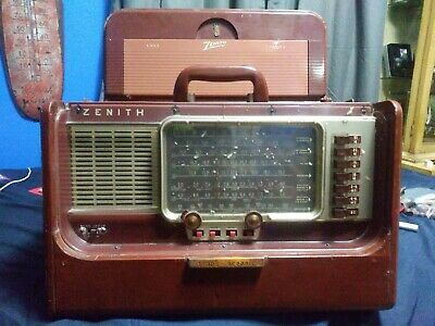 Zenith Transoceanic Radio Model L600 Chassis 6L40 Circa 1954