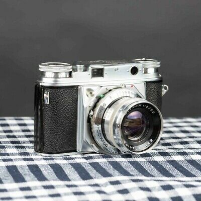 VOIGTLANDER PROMINENT 1 WITH 50MM ULTRON f2 AND CARRY CASE!!!!!, lens #3458377