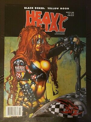 Heavy Metal Magazine March 1998, July 2000, May 2001, Sep 2001 VF-NM