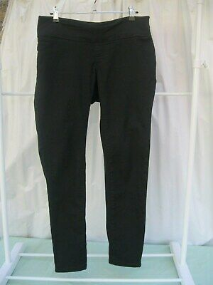 Target Collection Maternity Size 12 Under The Bump Black Skinny Pants
