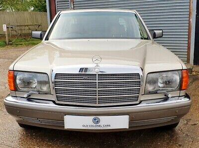 Only 23,000 Miles - Rare Manual - Mercedes 300 SE W126 S Class
