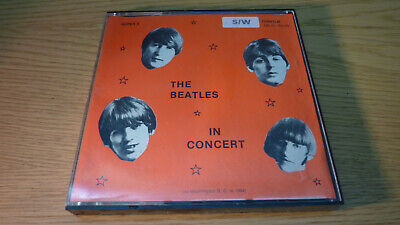 THE BEATLES IN CONCERT Super 8 schwarz/weiß Tonfilm 120 m Spule
